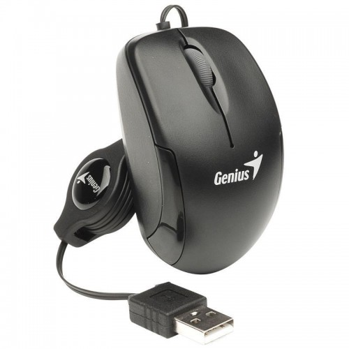 MOUSE GENIUS MICRO TRAVELER BLACK USB ND