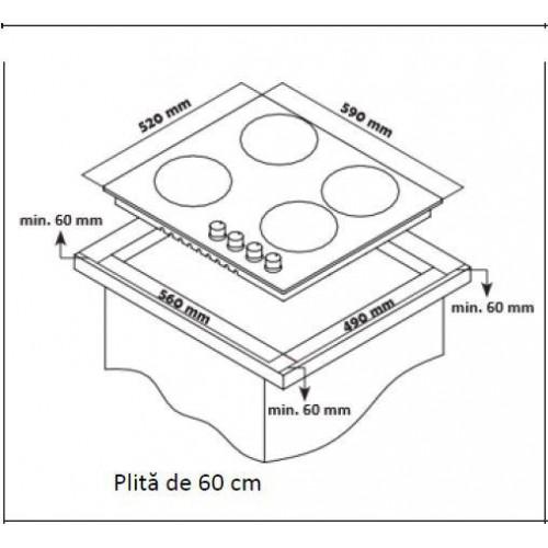PLITA BUILT IN HEINNER HBH-S584I-IX ND