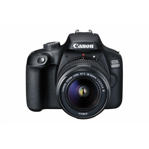 PHOTO CAMERA CANON KIT 4000D 18-55 DCIII ND