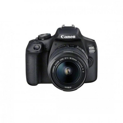 PHOTO CAMERA CANON KIT 2000D+18-55 IS II ND