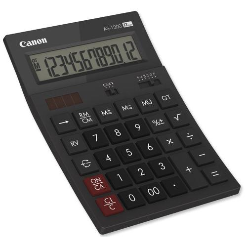 CANON AS1200 CALCULATOR 12 DIGITS ND
