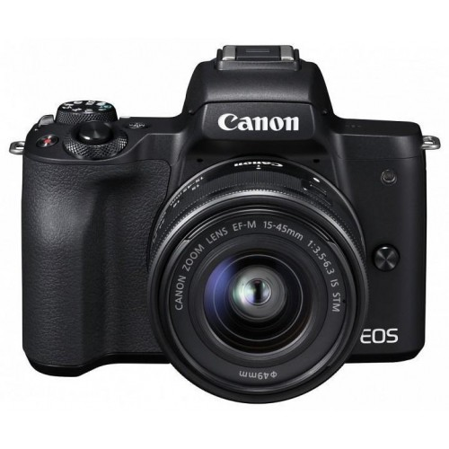 CAMERA FOTO EOS M50 BK KIT M15-45 IS STM ND