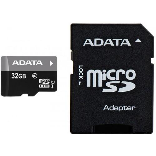 MICROSDHC 32GB CL10 ADATA W/A ND