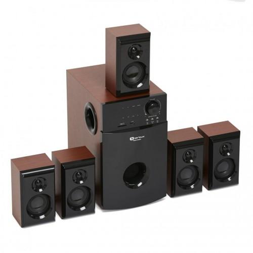 BOXE 5.1 SERIOUX SOUNDBOOST HT5100C ND