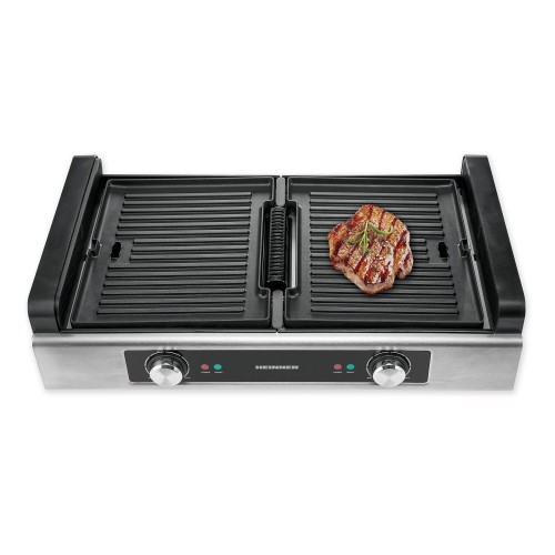 GRILL ELECTRIC - FILTRARE FUM  HEINNER HSEG-1800SS