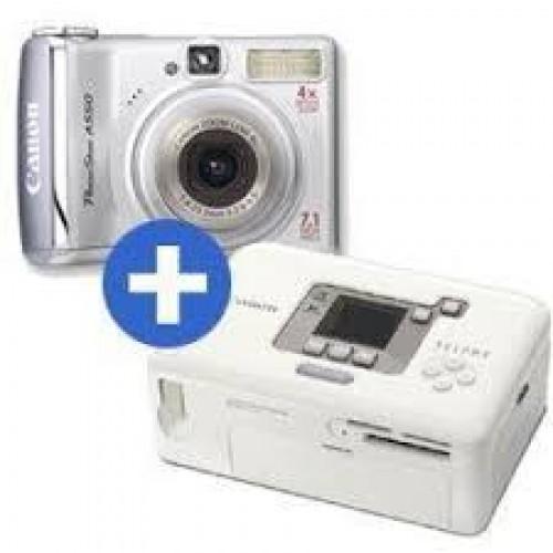 Camera foto A550+imprimanta CP720