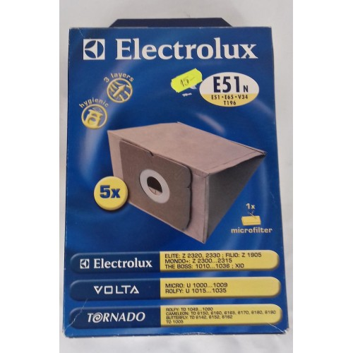 Set saci hartie aspirator ZANUSSI E51N
