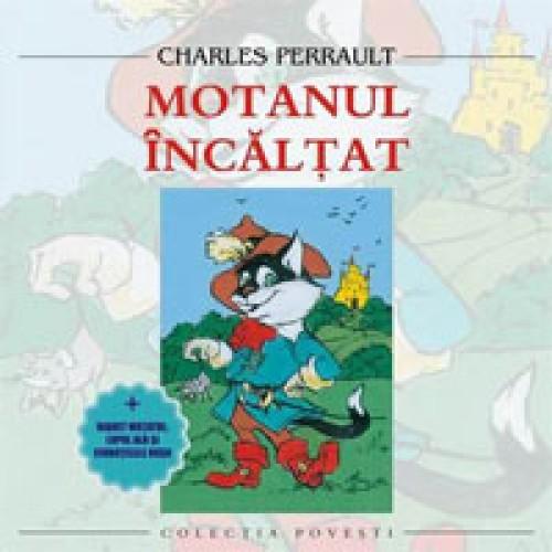 Motanul incaltat-Charles Perrault