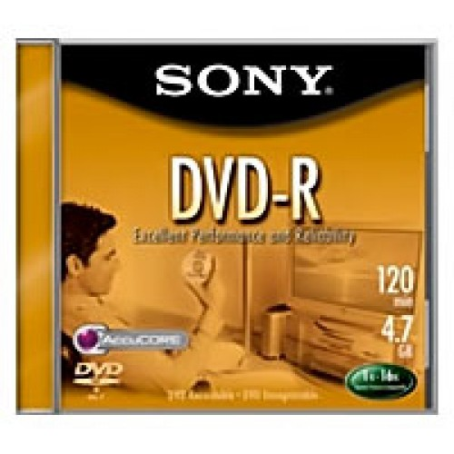 DVD blank Sony DVD-R 1x 16x