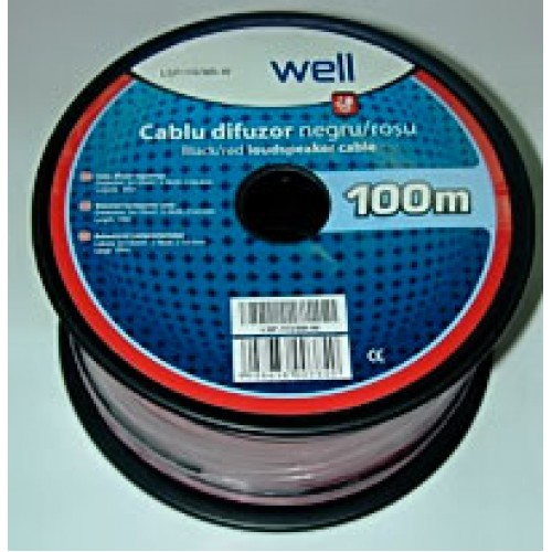 Cablu difuzor Well LSP-113-BR-W