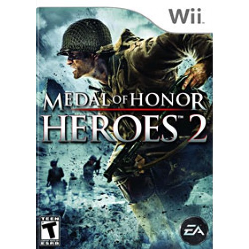 Medal of Honor-Heroes 2 Wii ea4090019