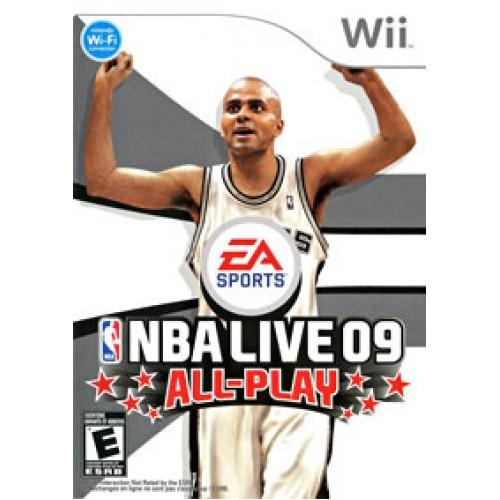 NBA live 09 Wii ea4090027