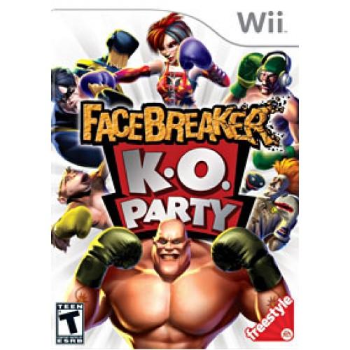 FaceBreaker Wii ea4090032
