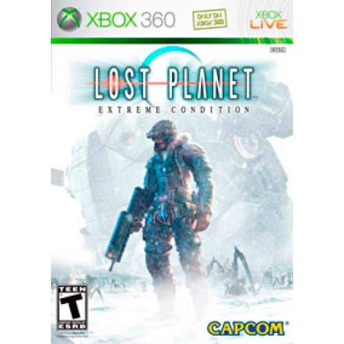 Lost Planet-Extreme Condition Xbox360 cdm7040046