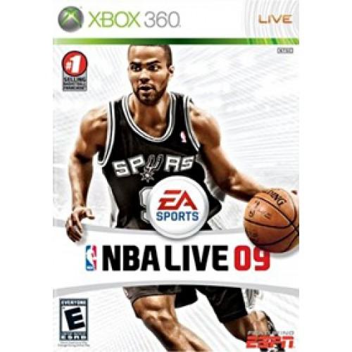 NBA live 09 Xbox360 ea7040040